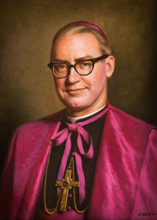Portrait of Bishop Driscoll
