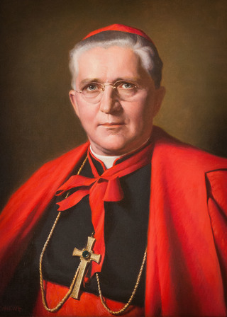 Portrait of Cardinal Muench